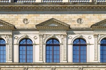 Sollingglas restoration - Dresden Zwinger