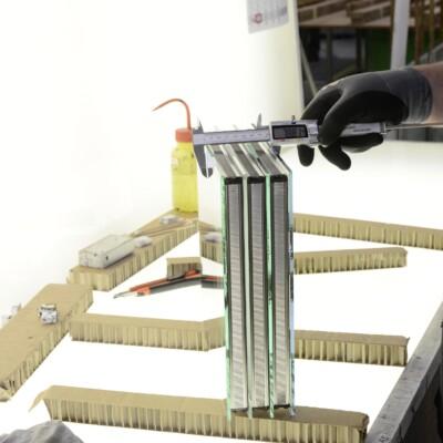 Türfüllungen aus Glas – Qualitätskontrolle