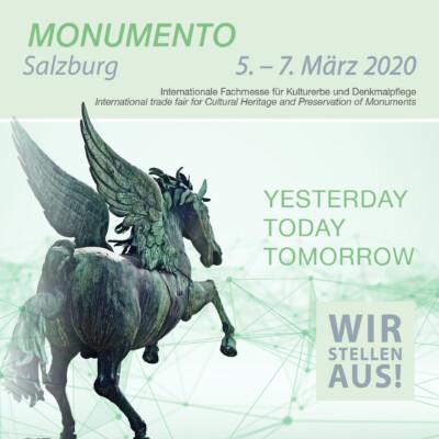 Sollingglas auf der Monumento 2020 in Salzburg