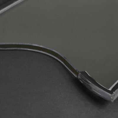 Antikglas mit Isolierverglasung für die Restaurierung